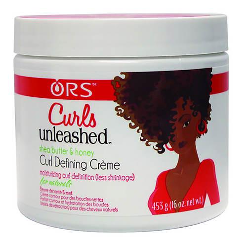 ORS Curls Unleashed Shea Butter & Honey Curl Defining Crème