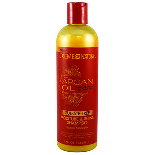 Creme of Nature Moisture & Shine Shampoo with Argan Oil
