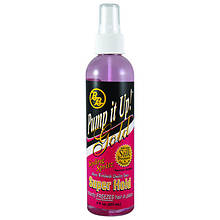 Bronner Brothers Pump It Up Super Hold Gold Spritz