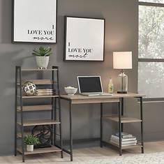 Signature Design by Ashley Home Office Desk & Shelf