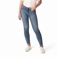 Silver Jeans Women's Most Wanted Mid Rise Skinny Jean