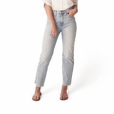 Silver Jeans Women's Highly Desirable High Rise Straight Leg Jean