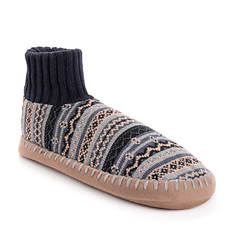 MUK LUKS Men's Cuff Slipper Bootie