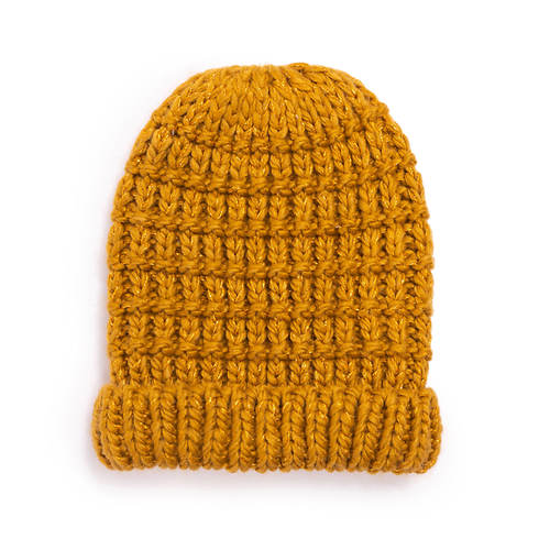 MUK LUKS Women's Lurex Cuff Cap
