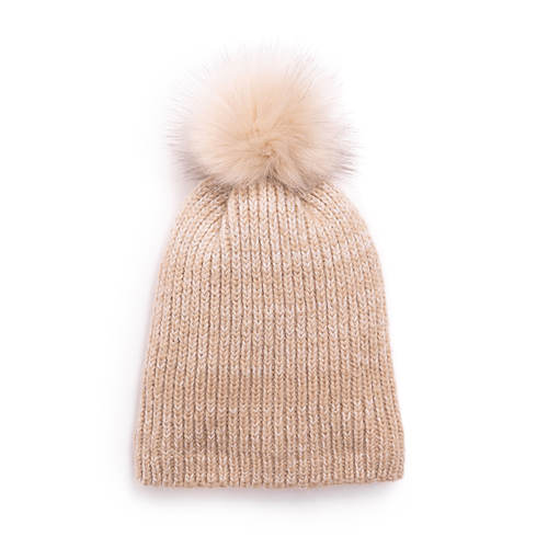 MUK LUKS Women's Marled Pom Hat