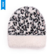 MUK LUKS Women's Fuzzy Cuff Cap