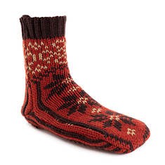 MUK LUKS Women's Knit Slipper Socks