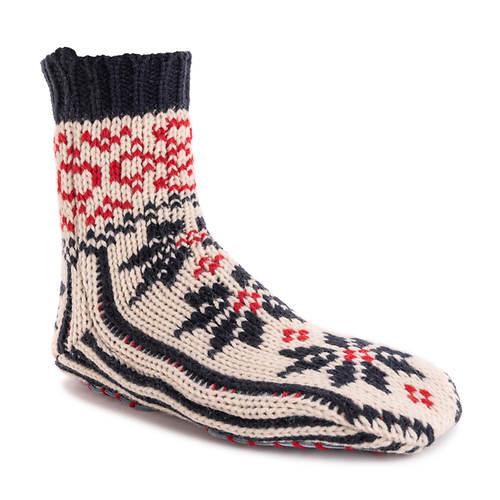 MUK LUKS Women's Knit Slipper Socks
