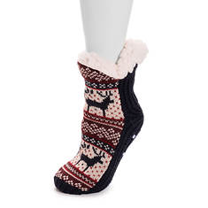 MUK LUKS Women's Holiday Cabin Socks