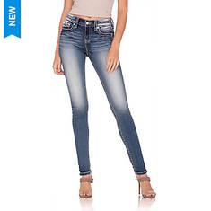 Miss Me Women's M3725S Embellished Skinny Jean