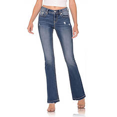 Miss Me Women's M3731B Embellished Bootcut Jean