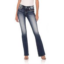 Miss Me Women's M3080B21 Embellished Bootcut Jean