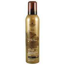 Smooth 'N Shine Curl-Defining Mousse with Camellia Oil & Shea Butter