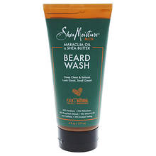 Shea Moisture Maracuja Oil & Shea Butter Beard Wash Deep Clean & Refresh