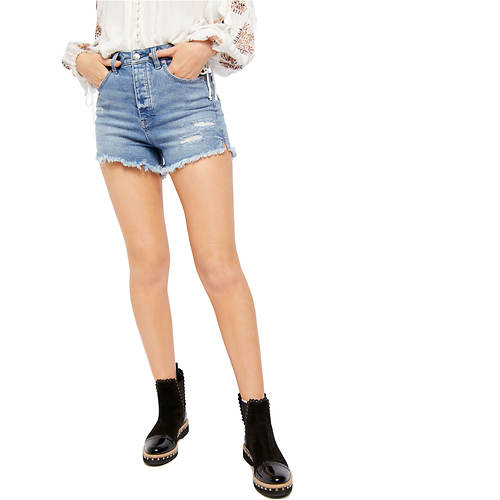 Free People Women's CRVY Vintage High Rise