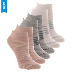 New Balance Women's Low Cut Flat Knit Basics 6-Pack