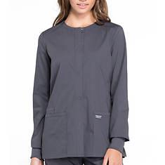 Cherokee Workwear Pro Snap Front Scrub Jacket