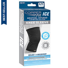 Copper Fit Ice Compression Knee Sleeve