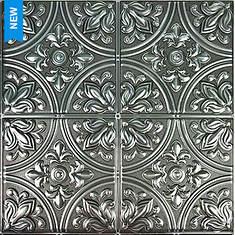 RoomMates Tin Peel-N-Stick Tile Backsplash