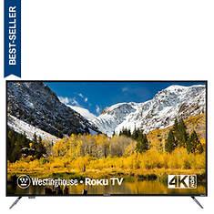 "Westinghouse 65"" 4K Ultra HD Roku Smart TV"