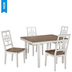 Signature Design by Ashley Woodanville 5-Piece Table Set