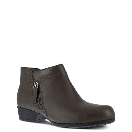 ROCKPORT WORKS Carly Alloy Toe Work Bootie (Women's)