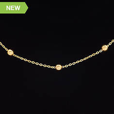 14K Gold-Filled Rosary Link Chain