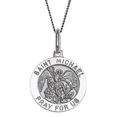 Personalized St. Michael Necklace