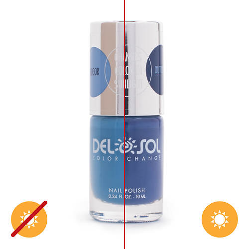 Del Sol Color-Changing Nail Polish