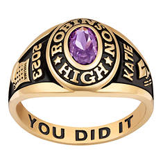 Petite Traditional Class Ring