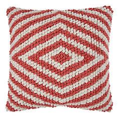 Diamond Stripe Throw Pillow