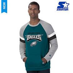 NFL Men's Starter Placekicker Fleece Crew Neck
