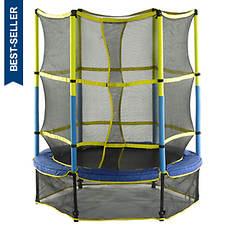 """Upper Bounce 55"""" Kid-Friendly Trampoline"""