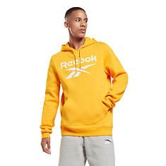 Reebok Big Logo Fleece Pull-Over Hoodie
