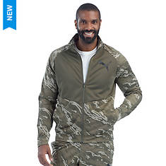 Puma Men's Contrast Camo Track Jacket
