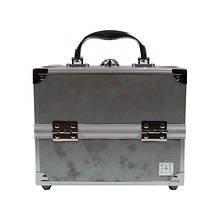 Caboodles 5-Tray Train Case in Grey
