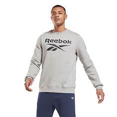 Reebok Men's Identity Fleece BL Crew