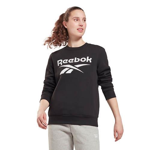 Reebok Women's Identity BL Fleece Crewneck