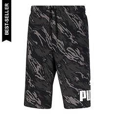 PUMA Men's Graphic Big Fleece Logo Short