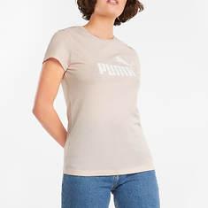 PUMA Women's Essentials Logo Heather Tee