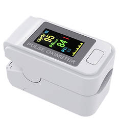Fingertip Pulse Oximeter, Color LCD