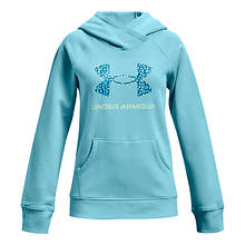 Under Armour Girls' Rival Core Logo Hoodie