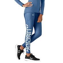 Under Armour Women's UA HeatGear Armour Big Logo Legging