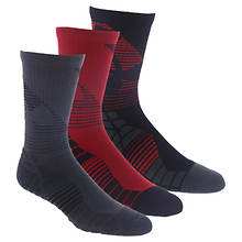 Under Armour Men's Elevated Novelty Crew 3-Pack Socks