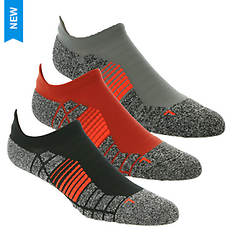 Under Armour Elevated+ Performance No Show Tab 3-Pack Socks