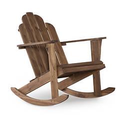 Linon Athens Adirondack Rocking Chair