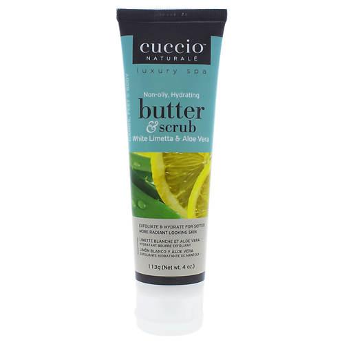 Cuccio Butter & Scrub - White Limetta & Aloe Vera