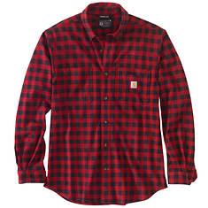 Carhartt Men's Rugged Flex Relaxed Fit Midweight Flannel LS Shirt