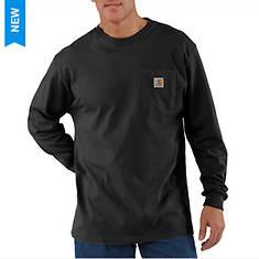 Carhartt Men's Loose Fit Heavyweight LS Pocket T-Shirt