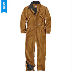 Carhartt Men's Loose Fit Washed Duck Insulated Coverall